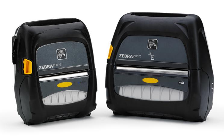 Zebra ZQ500 mobile RFID-Etikettendrucker