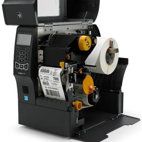Zebra ZT410 Etikettendrucker offen
