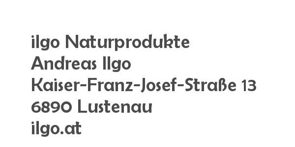 Balanox™ Partner in Lustenau: ilgo Naturprodukte ::: Andreas Ilgo