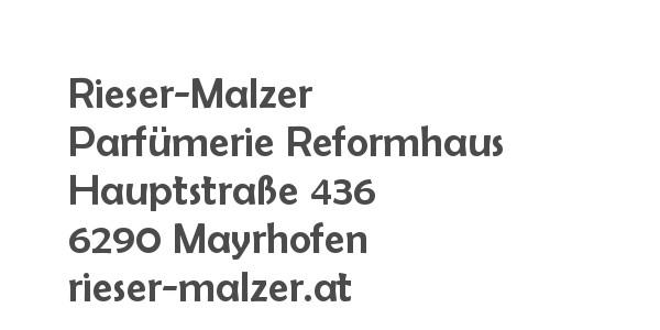 Balanox™ Partner in Mayrhofen: Rieser-Malzer Parfumerie Reformhaus