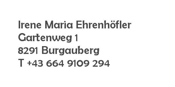 Balanox Partner Burgauberg: Irene Ehrenhöfler