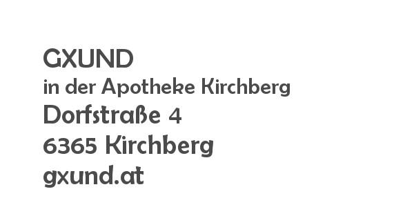 Balanox™ Partner in Kirchberg: GXUND in der Aptheke Kirchberg
