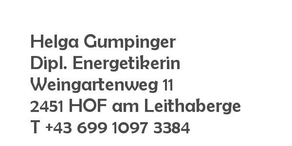 Balanox Partner Hof am Leithagebirge: Energethik Helga Gumpinger