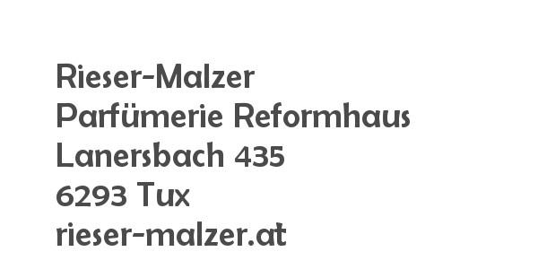 Balanox™ Partner in Tux: Rieser-Malzer Parfumerie Reformhaus