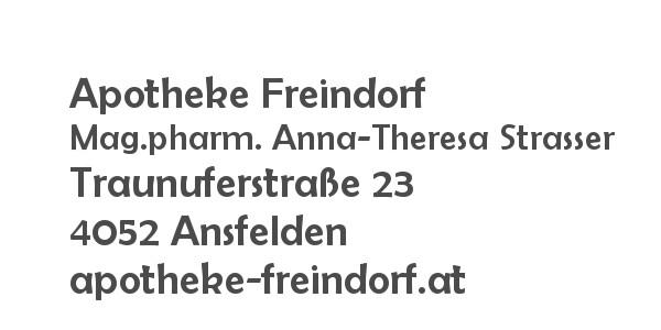 Balanox™ Partner Freindorf - Ansfelden: Apotheke Freindorf ::: Mag.pharm. Anna-Theresa Strasser