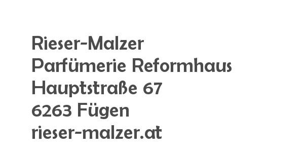 Balanox™ Partner in Fuegen: Rieser-Malzer Parfumerie Reformhaus