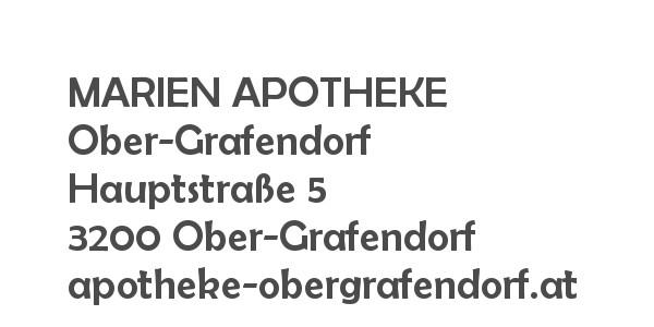Balanox™ Partner in Obergrafendorf: MARIEN APOTHEKE Ober-Grafendorf