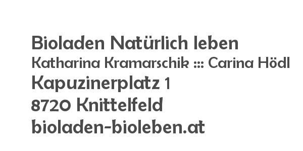 Balanox™ Partner in Knittelfeld: Bioladen Natürlich leben ::: Katharina Kramarschik ::: Carina Hödl