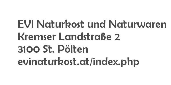 Balanox Partner St. Pölten: EVI Naturkost