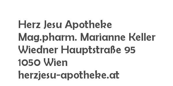 Balanox™ Partner in 1050 Wien Margareten: Herz Jesu Apotheke ::: Mag.pharm. Marianne Keller