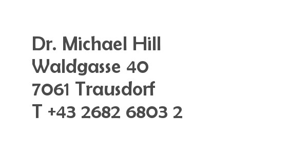 Balanox Partner Trausdorf: Dr. Michael Hill