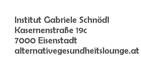Balanox Partner Eisenstadt: Gabriele Schnödl | Alternative Gesundheitslounge