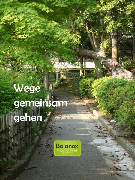 Balanox™ Bildbotschaft: Wege gemeinsam gehen