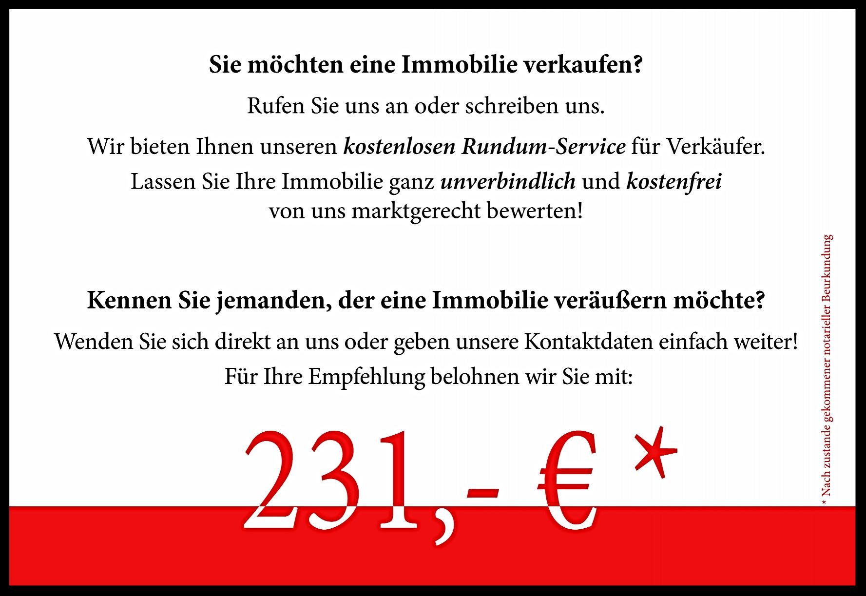BELOHNUNG als DANKESCHÖN für IHRE EMPFEHLUNG - dietzimmo-lns Webseite!