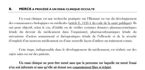 essais cliniques occulte levothyrox Merck