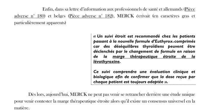 Mercki/levothyrox extrait C. Leguevaques