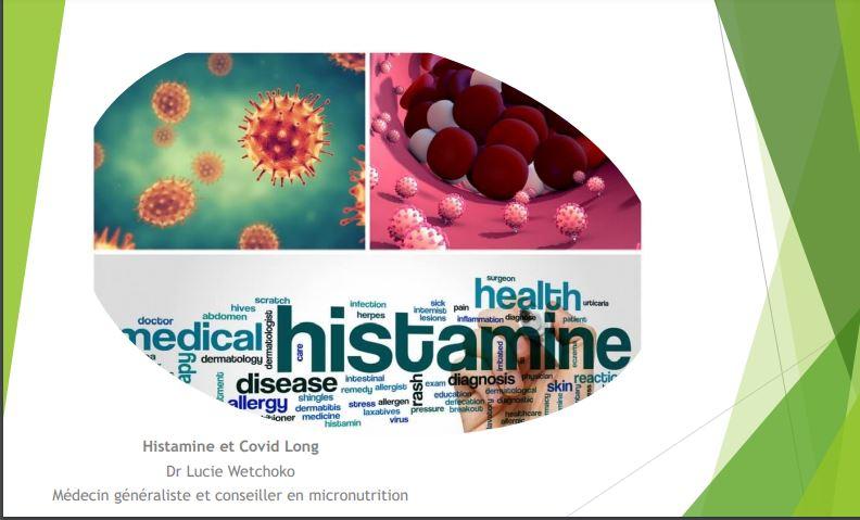 COVID-19 Conférence SAMA - Histamine du 05/05/21