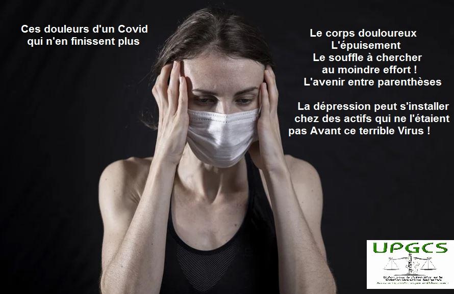 Conséquence des souffrances supportées, la dépression observée chez certains  n'est nullement la cause de leur Covid long. Le point du psychologue