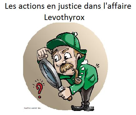 """Feuilleton juridique de la saga Levothyrox """" Répliques aux conclusions de Merck"""" 1er épisode"""
