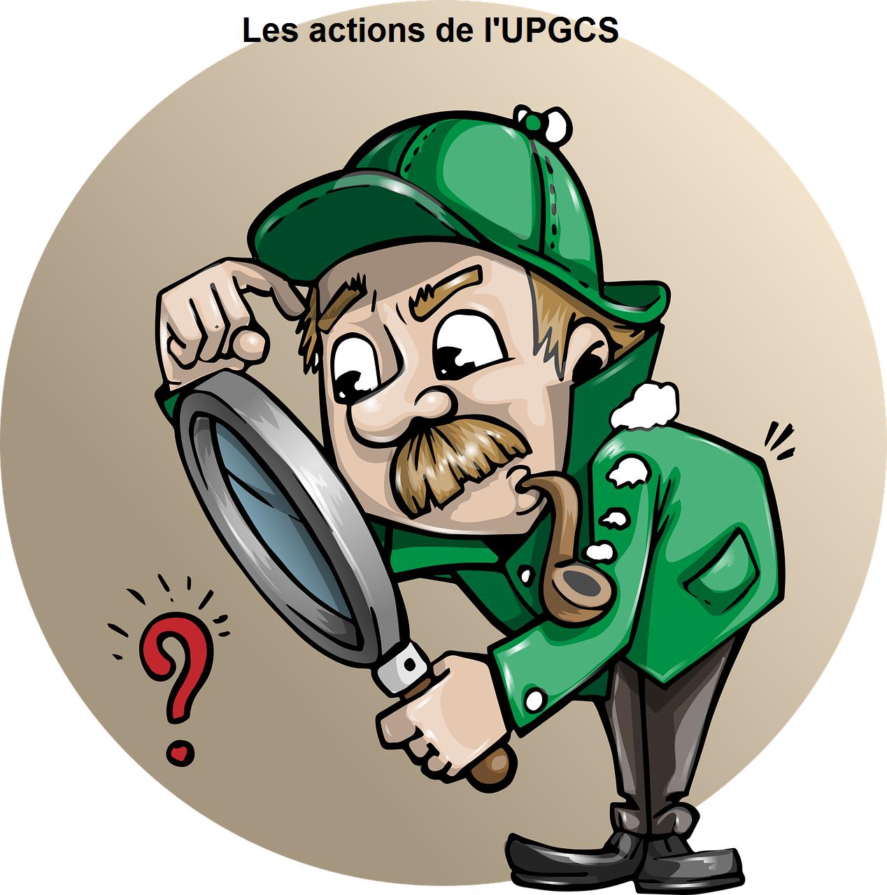Les actions de l'UPGCS vers les Autorités de Santé dans le cadre des crises sanitaires