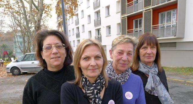 Martine Madaule et les Castraises