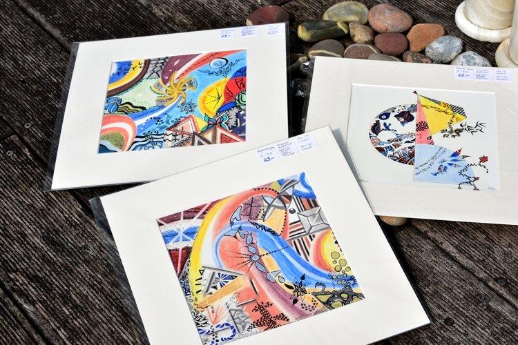 Kunst MoniArt Zeichnungen Filigarn Fineart