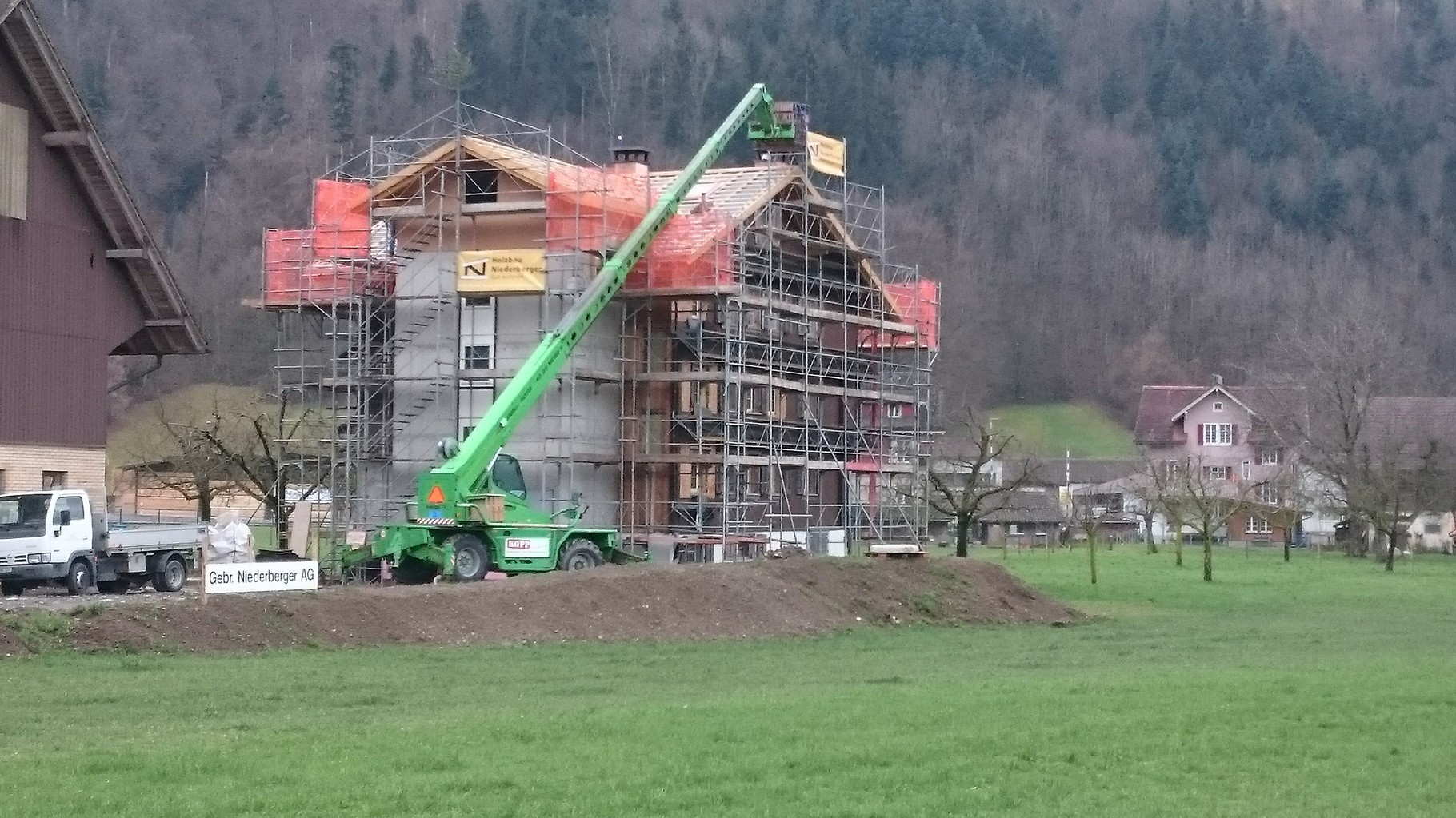 Renovation Bauernhaus, Oberdorf