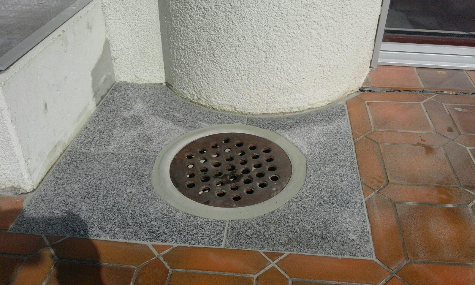 Reparatur Anschluss Dachwasserschacht,  Dallenwil