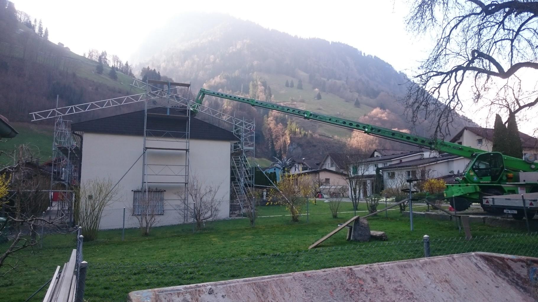 Renovation Dach, Wolfenschiesssen