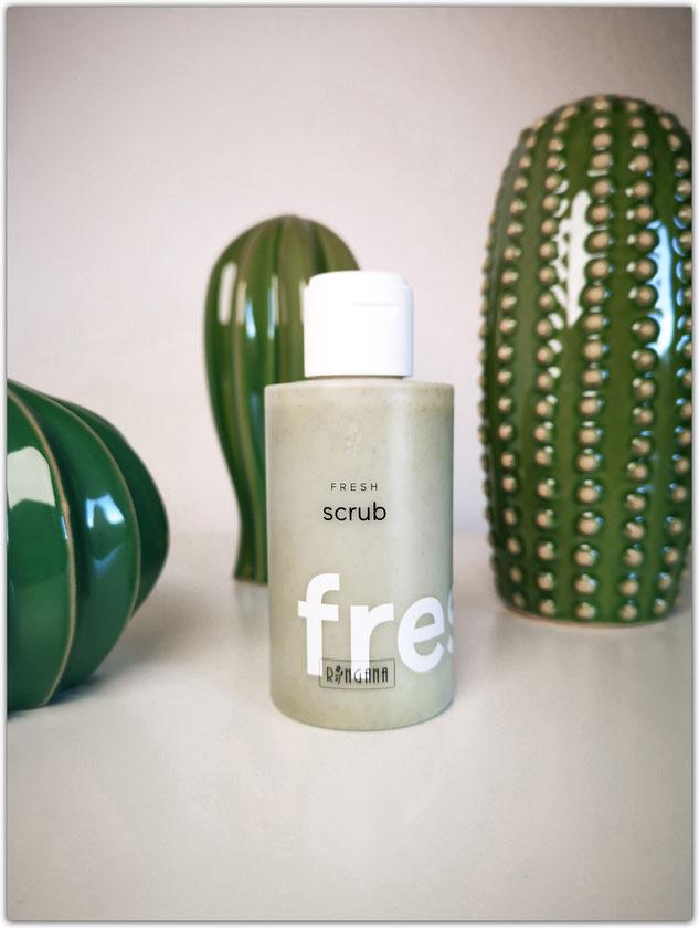Ringana fresh scrub peeling natural skin care cosmetics vegan cruelty-free