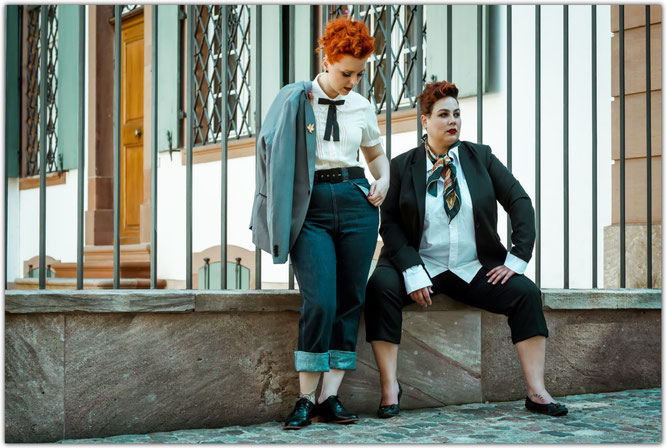 Photographer: Lebensgefühlfotografie / Models: Isabelle Bella Curvy Model and I