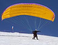 parapente a ski