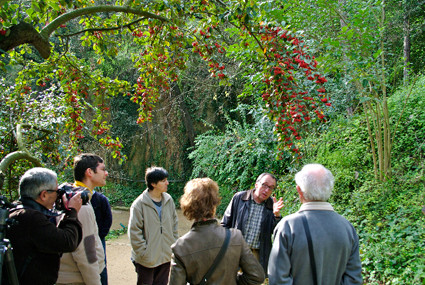 Visita guiada al Jardí Històric de la mà de Josep Maria Montserrat (2010).