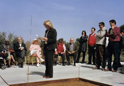 Fiesta del 5 º aniversario del nuevo Jardín (2003).