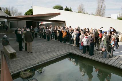 Acta d'inauguració de l'exposició: De la llavor als fruits, en la qual es resumeix 15 anys com a Associació (2009).