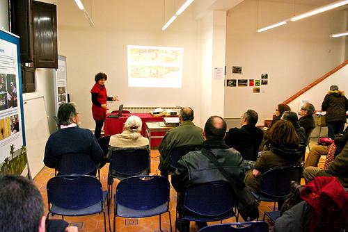 Xerrada: Presentació de la zona etnobotànica de la Masia a càrrec de Carme Farré (2010).