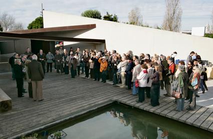 Inauguración de la exposición: De la semilla a los frutos, como recompensa a los 10 años de trabajo de la Asociación (2009).