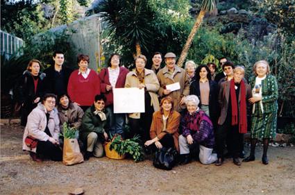 Participantes en el concurso de tortillas (1997).