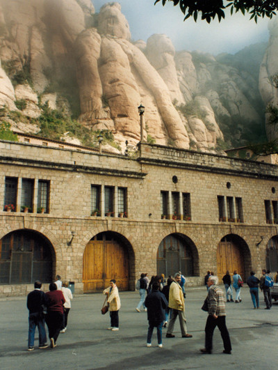 Excursió a Montserrat (1996).