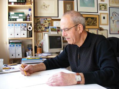 Joaquim Conca, mestre i inspiració dels dibuixants del Jardí.