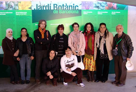 Visites de la Fundació ARED. (2011)
