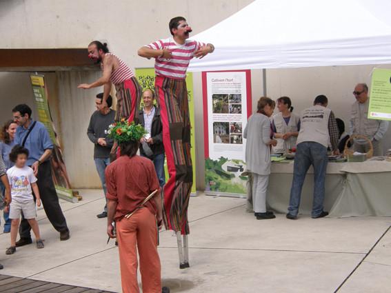 Estand informatiu: Planta't al Jardí Botànic (2011).