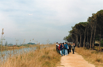 Excursió al Delta del Llobregat (1995).