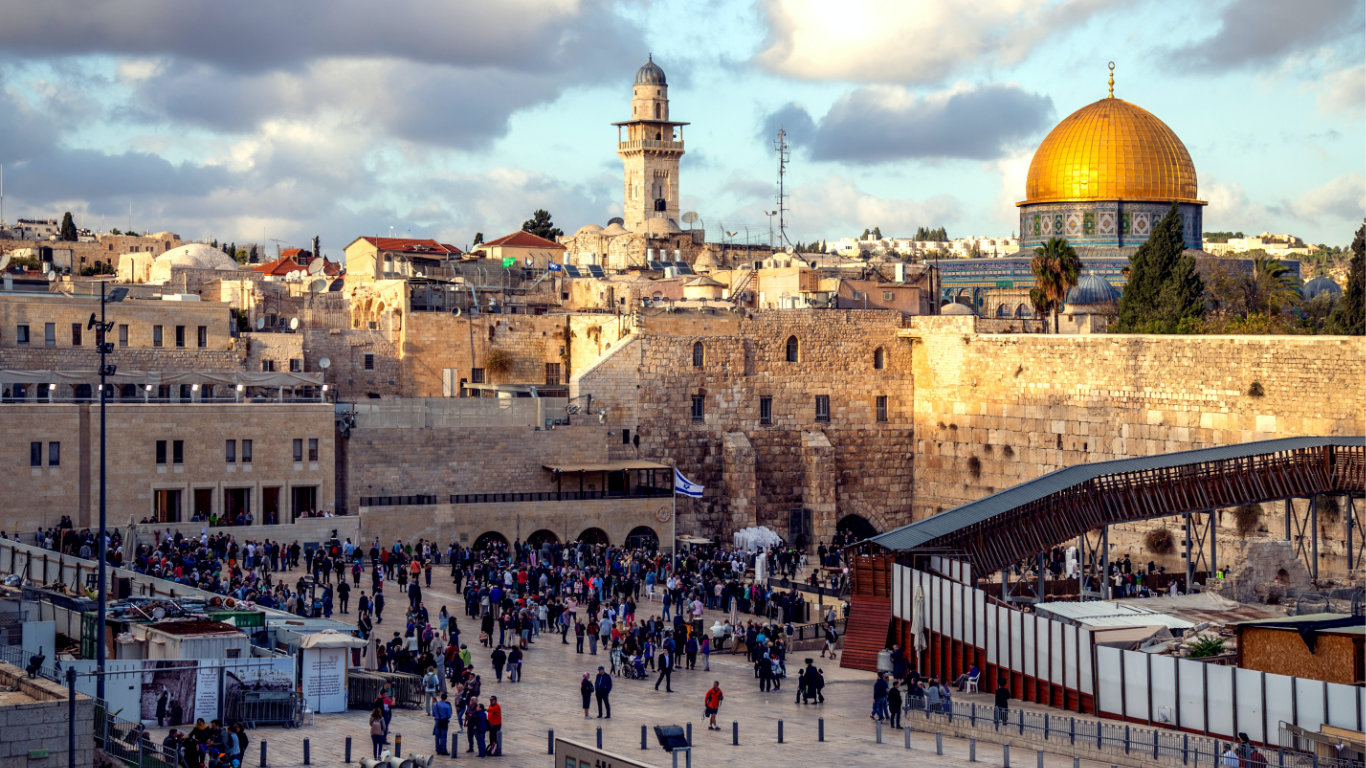 Ground penetrating radar: Searching for the second wall in Jerusalem