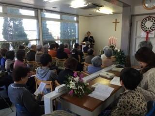 12月20日クリスマス礼拝