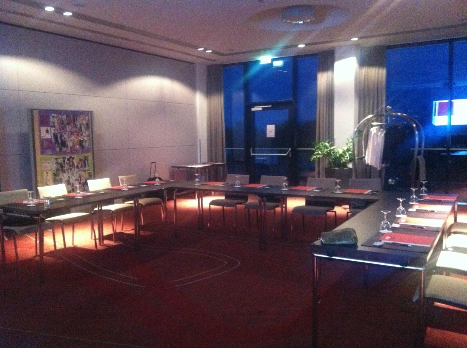Unser Seminar-Raum im Lindner Congress & Motorsport-Hotel am Nürburgring