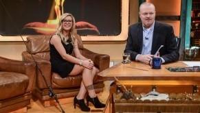 Babs Kijewski zu Gast bei Stefan Raab in TV total
