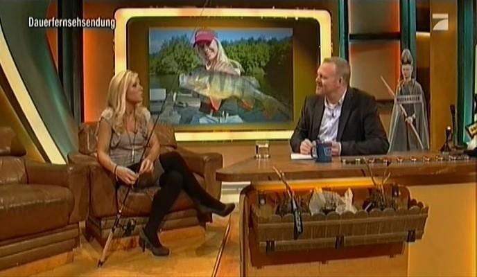 Babs als Gast im TV