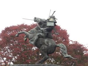 最上義光公騎馬像