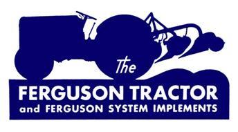 Ferguson Tractor Logo